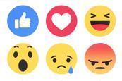 Facebook emojis 3x2