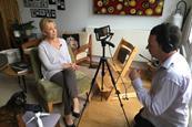 Recording an interview mojo