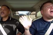 Carpool karaoke will smith james corden