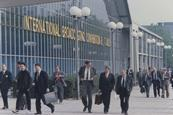 Ibc in amsterdam 1992   external view of meeting halls   low res