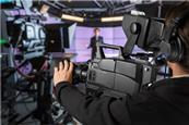 Tv studio broadcast
