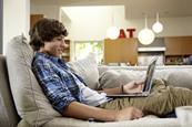 22 tv living room lounging student