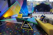 European Championships Studio in George Square Glasgow 3x2