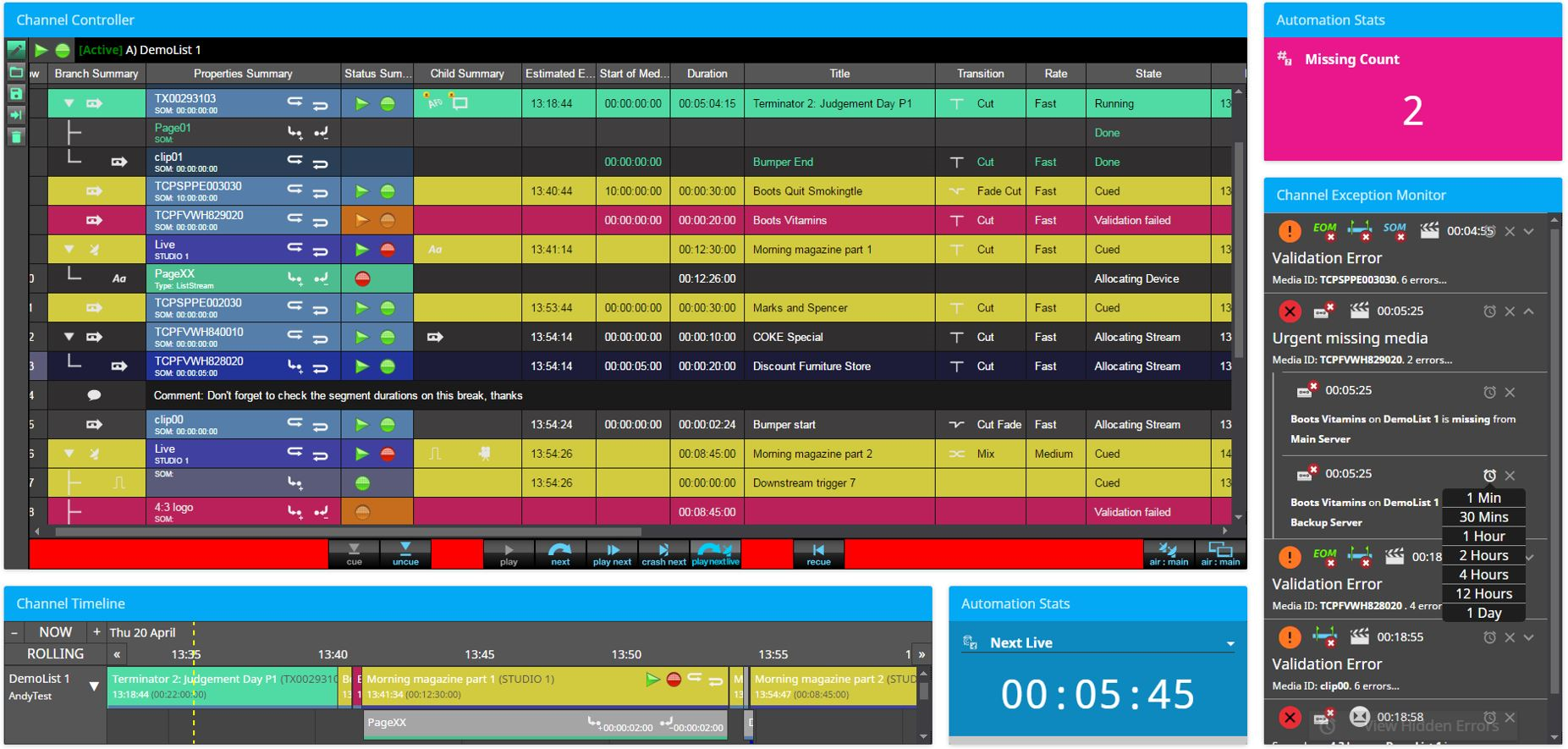 Playout priorities: the vendors' view | Industry Trends | IBC