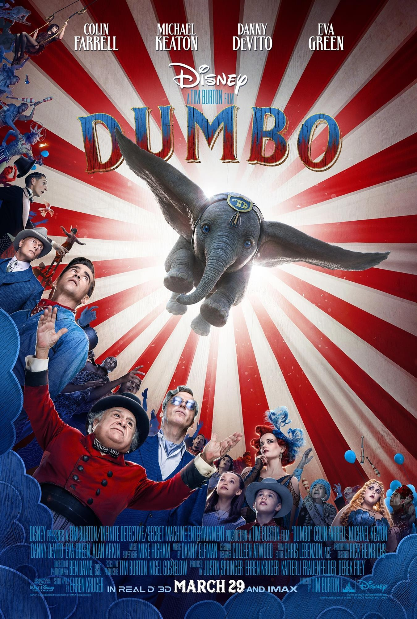 Behind the scenes: Dumbo | Executive Interviews | IBC