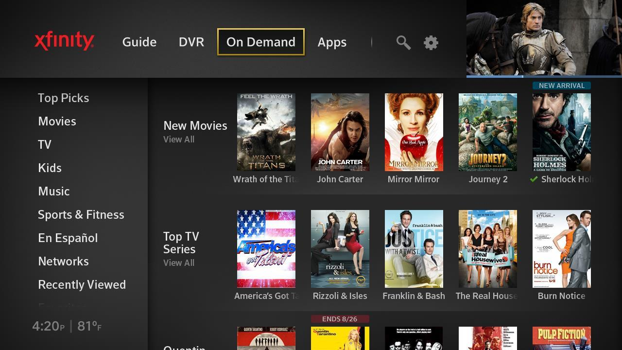 Managing VoD platforms and the delivery of content