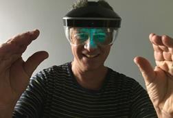 Schilowitz wearing meta headset 3x2