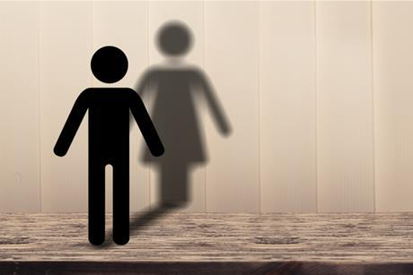 gender man diversity woman shadow