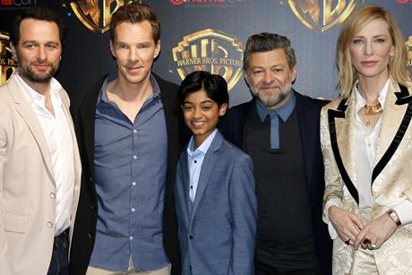 Andy Serkis and Mowgli cast 16x9