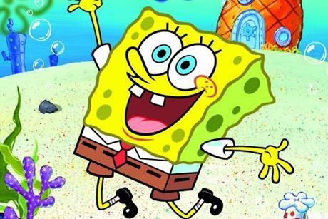 Spongebob squarepants viacom 3x2