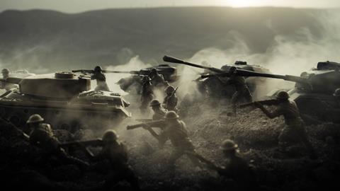 war tanks soldier battle 16x9ish