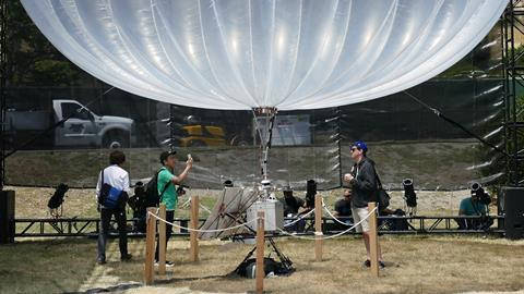 Project loon under test use