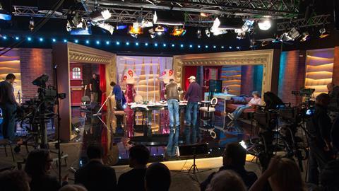 Bts tv studio production 16.9