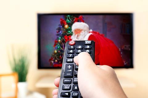 tv remote christmas