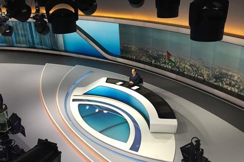 Al Jazeera's European news is broadcast from the Shard in London