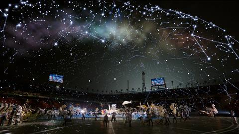 Brainstorm augments the night sky in Pyeongchang