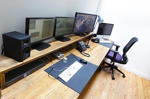 Keo Films editing suite