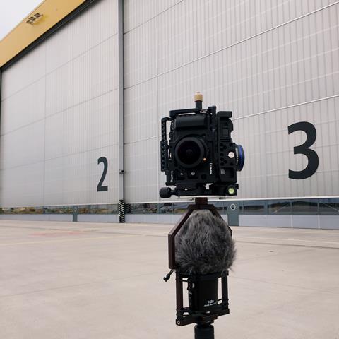 Betteridge's camera set-up