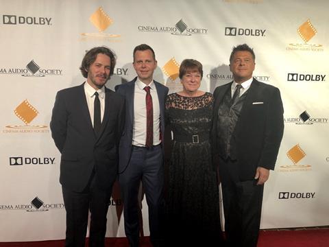 Oscar nominated: Baby Driver's Edgar Wright, Julian Slater, Mary Ellis & Tim Cavingen