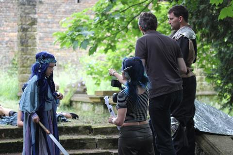 Cecily Fay: Directing Flower of Sarnia on location