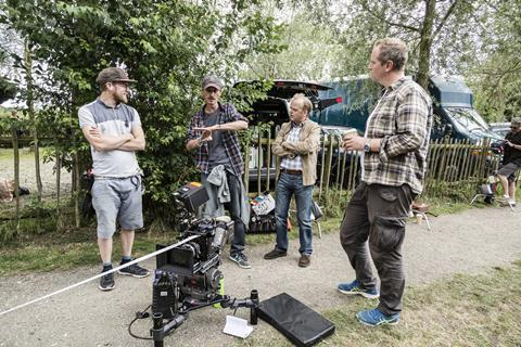 Bbc detectorists behind the scenes camera director