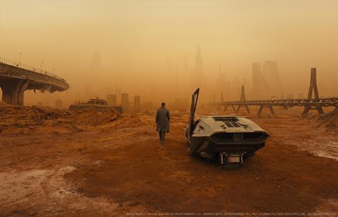 Oscar winner: Deakins finally won Best Cinematography this year for Bladerunner 2049