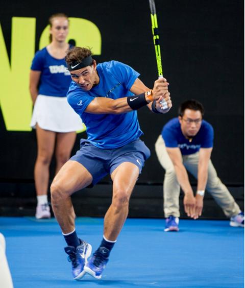 Tie Break Tens: Rafael Nadal at Margaret Court Arena