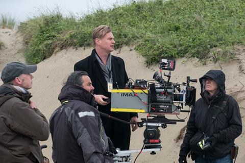 Christopher nolan using imax camera to shoot dunkirk