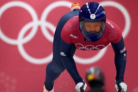 Record-breaker: Lizzy Yarnold became the first Team GB Winter Olympian to retain their title