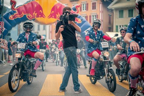 Sony Virtual Production: Red Bull Alpenbrevet