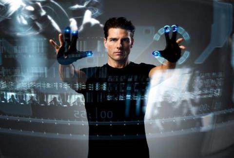 Innovation: Minority Report's virtual screen