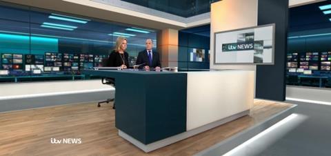 ITV news room ITN