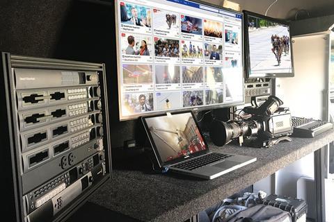 Remote connectivity: Dejero's GateWay