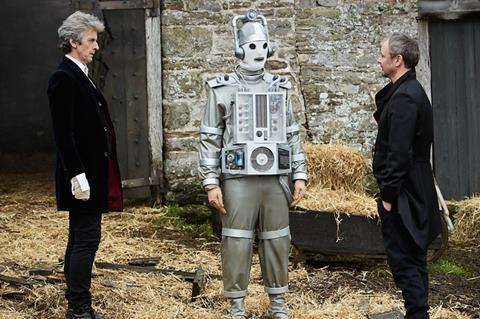 Super-fan: Peter Capaldi as the Doctor
