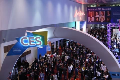 Visitors attending CES 2018