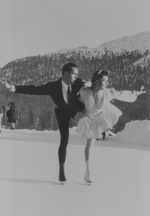 Figure skating at St Moritz 1948