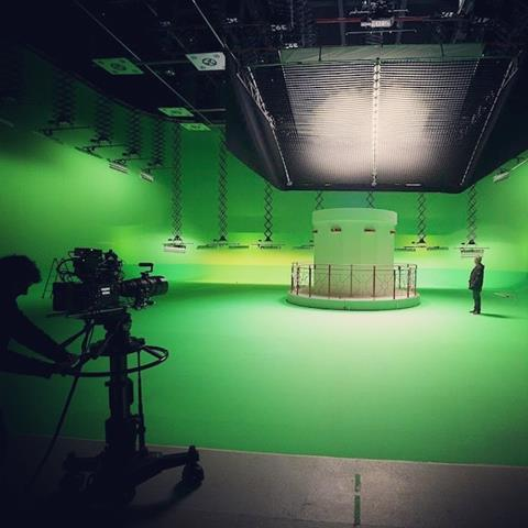 Stargate studios green screen