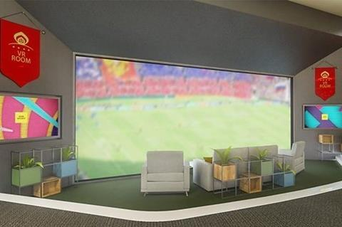 Virtual hospitality: BBC's VR lounge