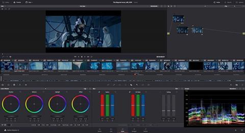 Grading with DaVinci Resolve