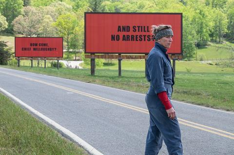 Three Billboards Outside Ebbing, Missouri, graded on DaVinci Resolve