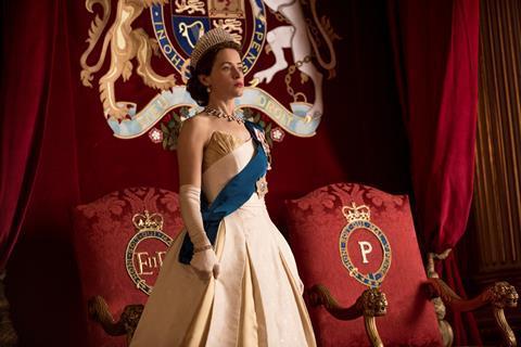 International hit: Netflix's The Crown