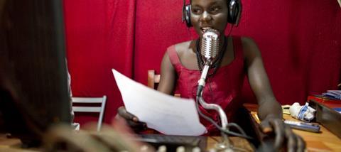 Radio broadcaster in Yei, Sudan