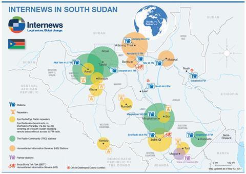 Internews' South Sudan coverage