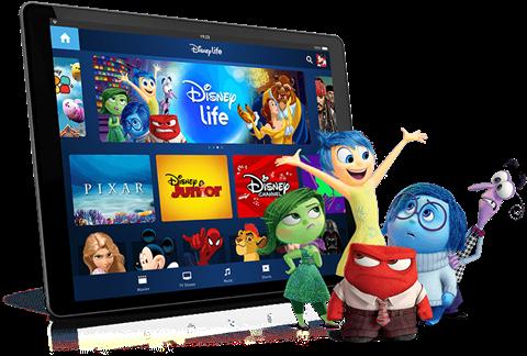 Disney's UK streaming service: Disney Life