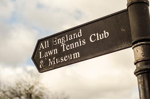 The centre of the sporting world: All England Lawn Tennis Club