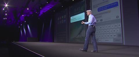 Craig federighi apple keynote