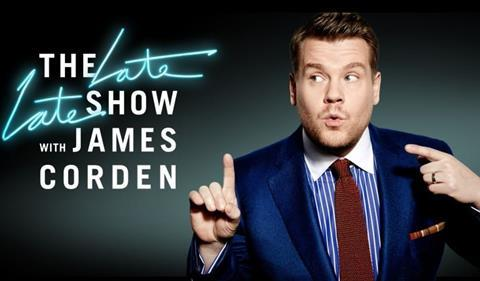 The late late show james cordyn