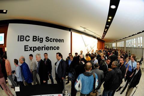 Ibc big screen experience