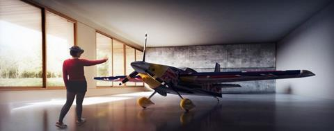 HoloLens proof-of-concept: Red Bull Air Race