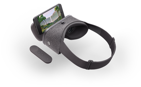 Google day dream headset